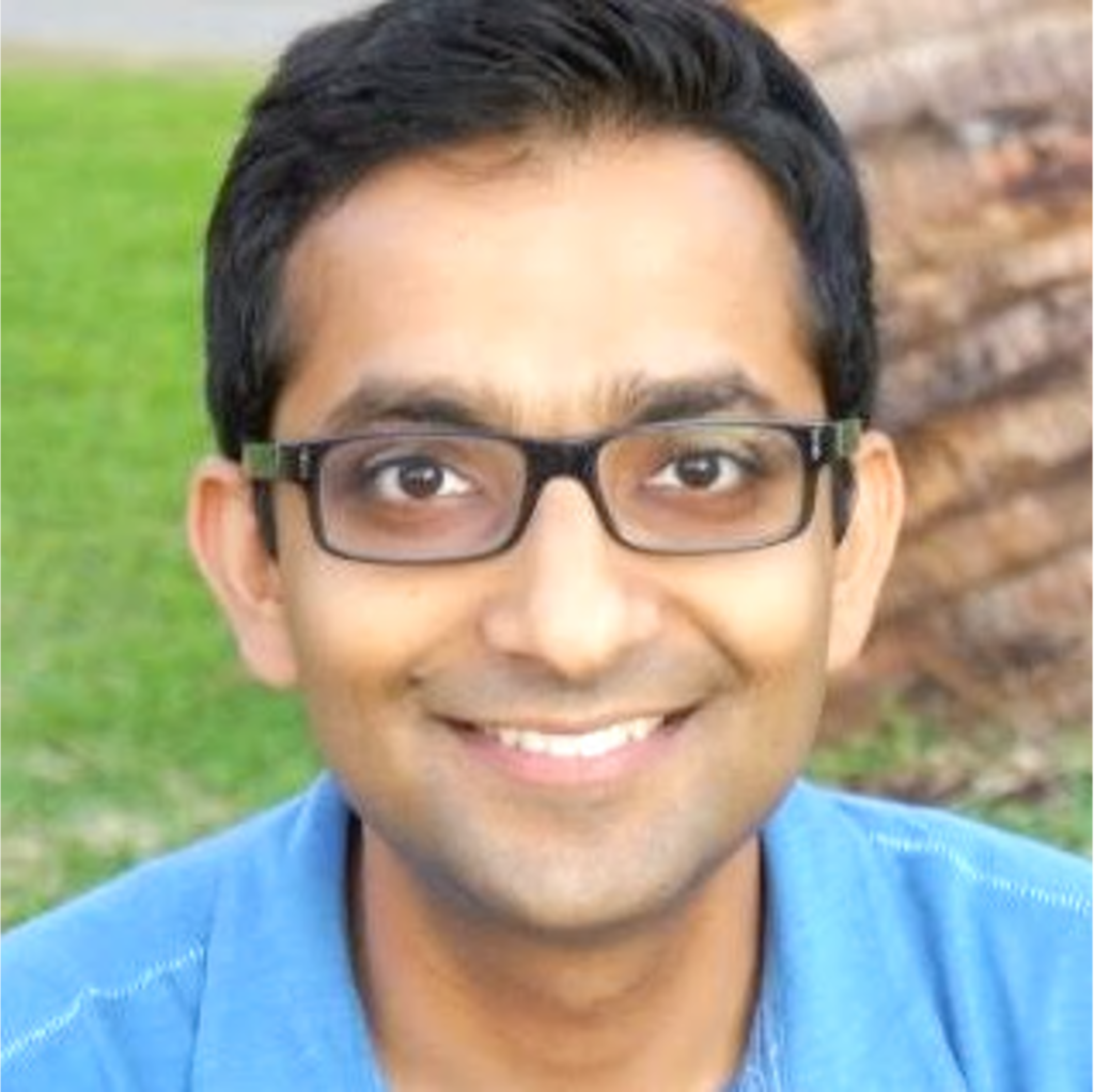 A photograph of Shreyas Doshi